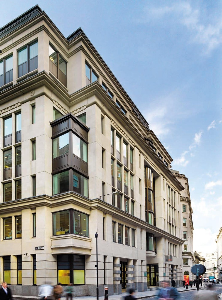 21 Lombard Street in the City of London
