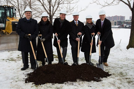 Construction begins at 3055 Saint-Martin Ouest in Laval