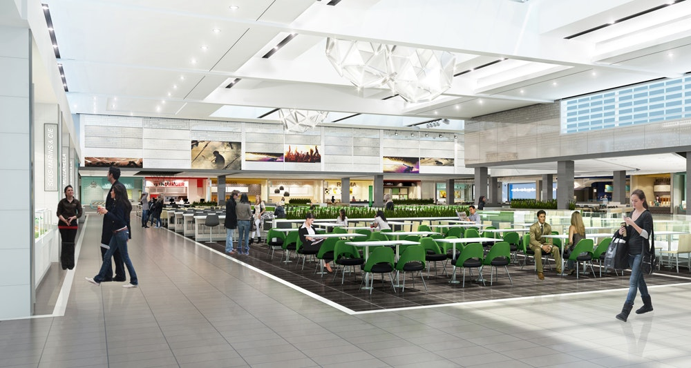 Redevelopment at Laurier Quebec Shopping Centre