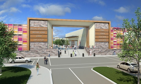 Construction begins on The Outlet Collection shopping centre in Niagara-on-the-Lake