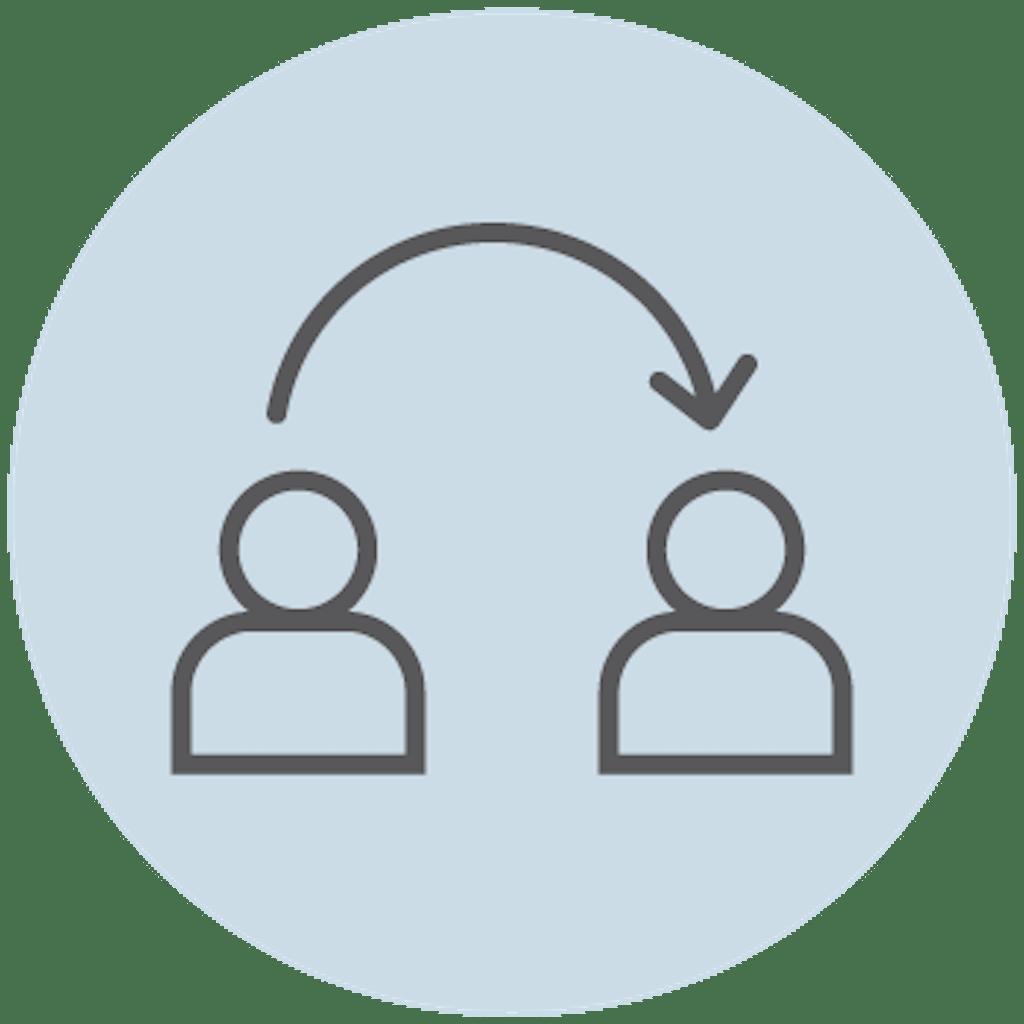 Resource sharing between departments