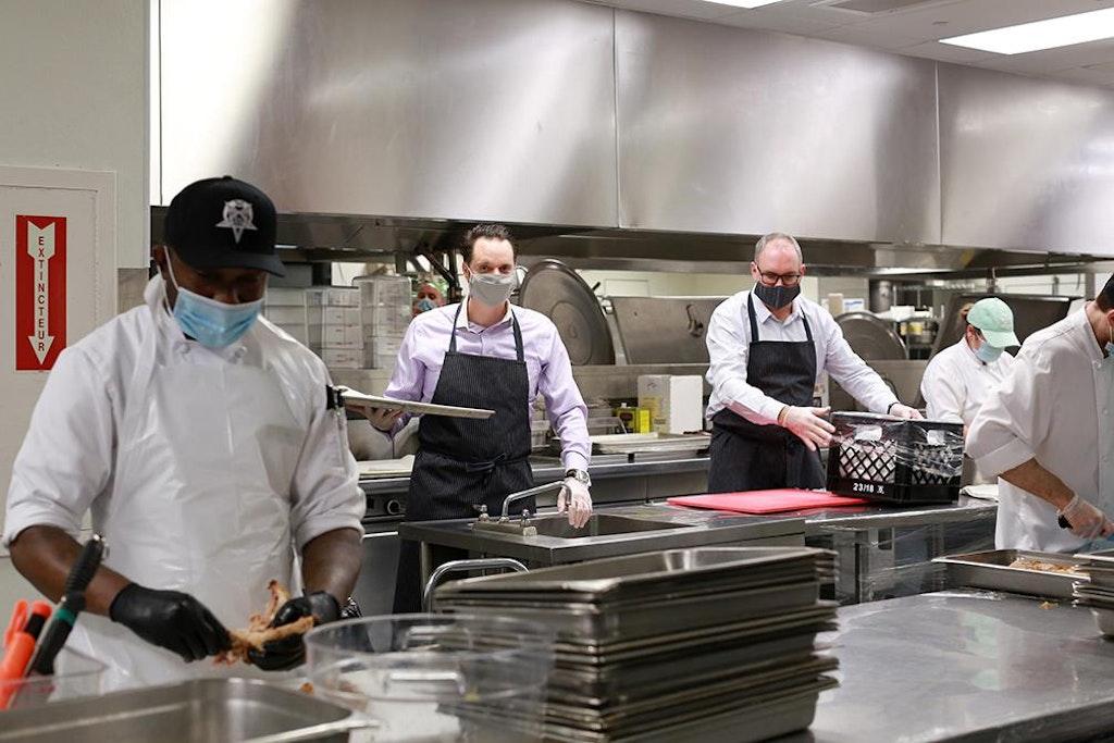 Cuisines Solidaires, an initiative of the Tablée des Chefs, Fairmont Le Château Frontenac