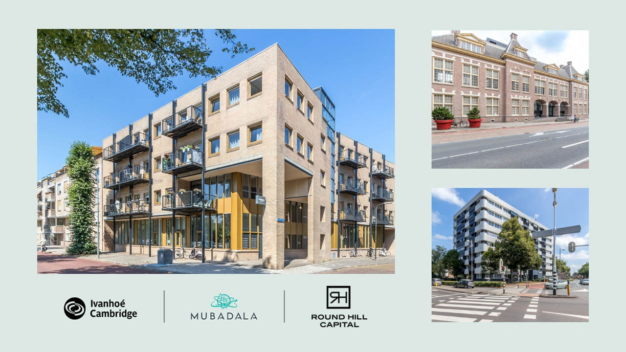 Round Hill Capital, Mubadala Investment Company and Ivanhoé Cambridge announce new partnership to invest in residential assets in the Netherlands