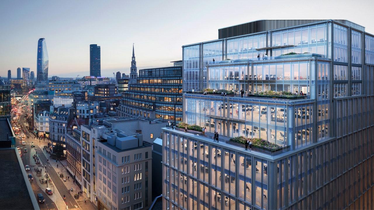 Stonecutter Court sera redéveloppé en un immeuble de bureaux totalement réaménagé et axé sur l'expérience utilisateur,